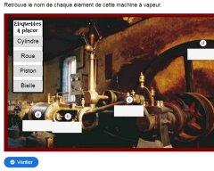 Histoire : la machine à vapeur et les énergies (18/19èmes)