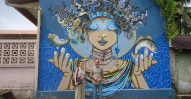 Melle Corinne Pardo et Mr Michel Valiente
