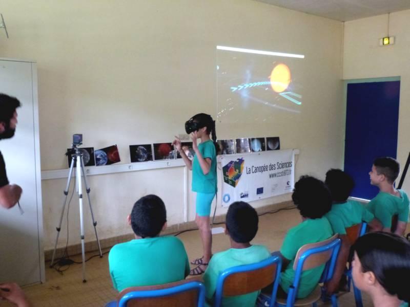 Visite virtuelle du système solaire