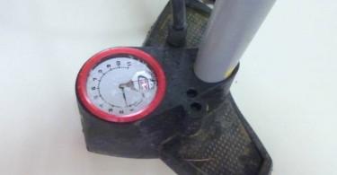 Le cadran de contrôle de la pression...