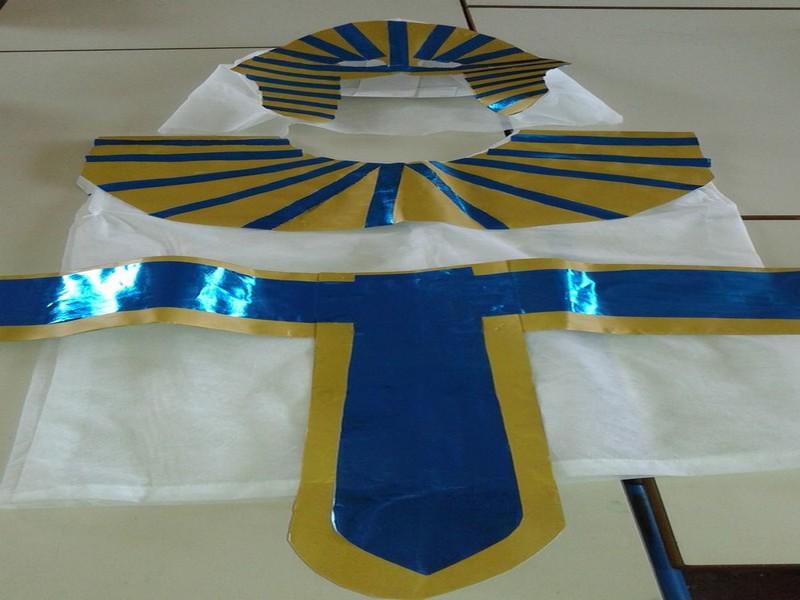 Le costume de pharaon