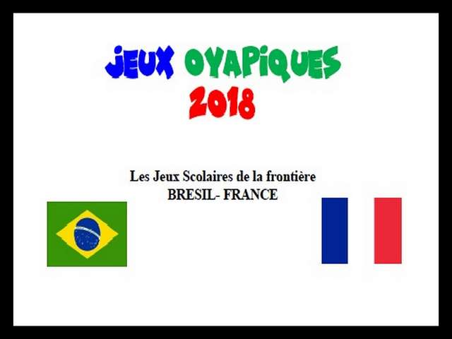 Jeux Oyapiques 2018 - Version internationale