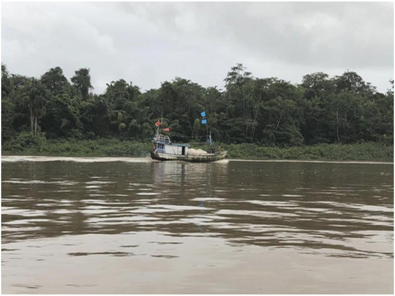 Le fleuve Oyapock, au départ...