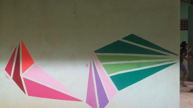 Fresque et formes géométriques