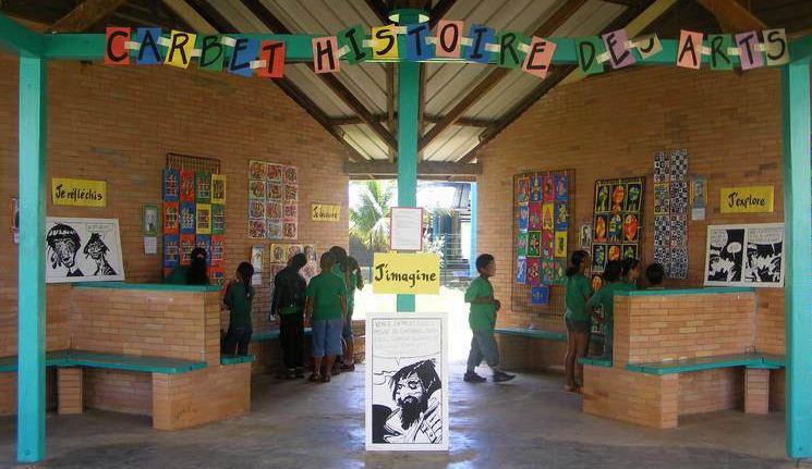 Exposition d'arts visuels - Collège - 2012/2013